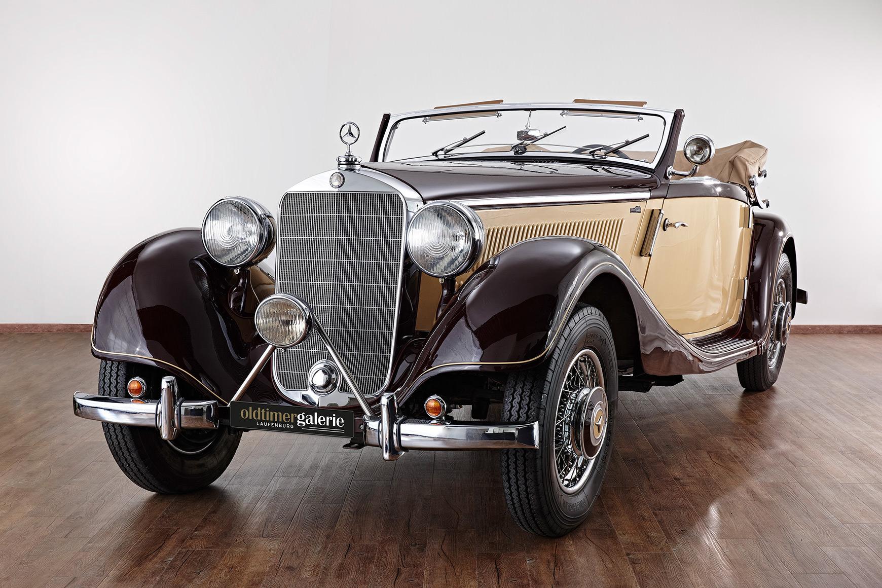 1938 mercedes 320 cabriolet a. Black Bedroom Furniture Sets. Home Design Ideas