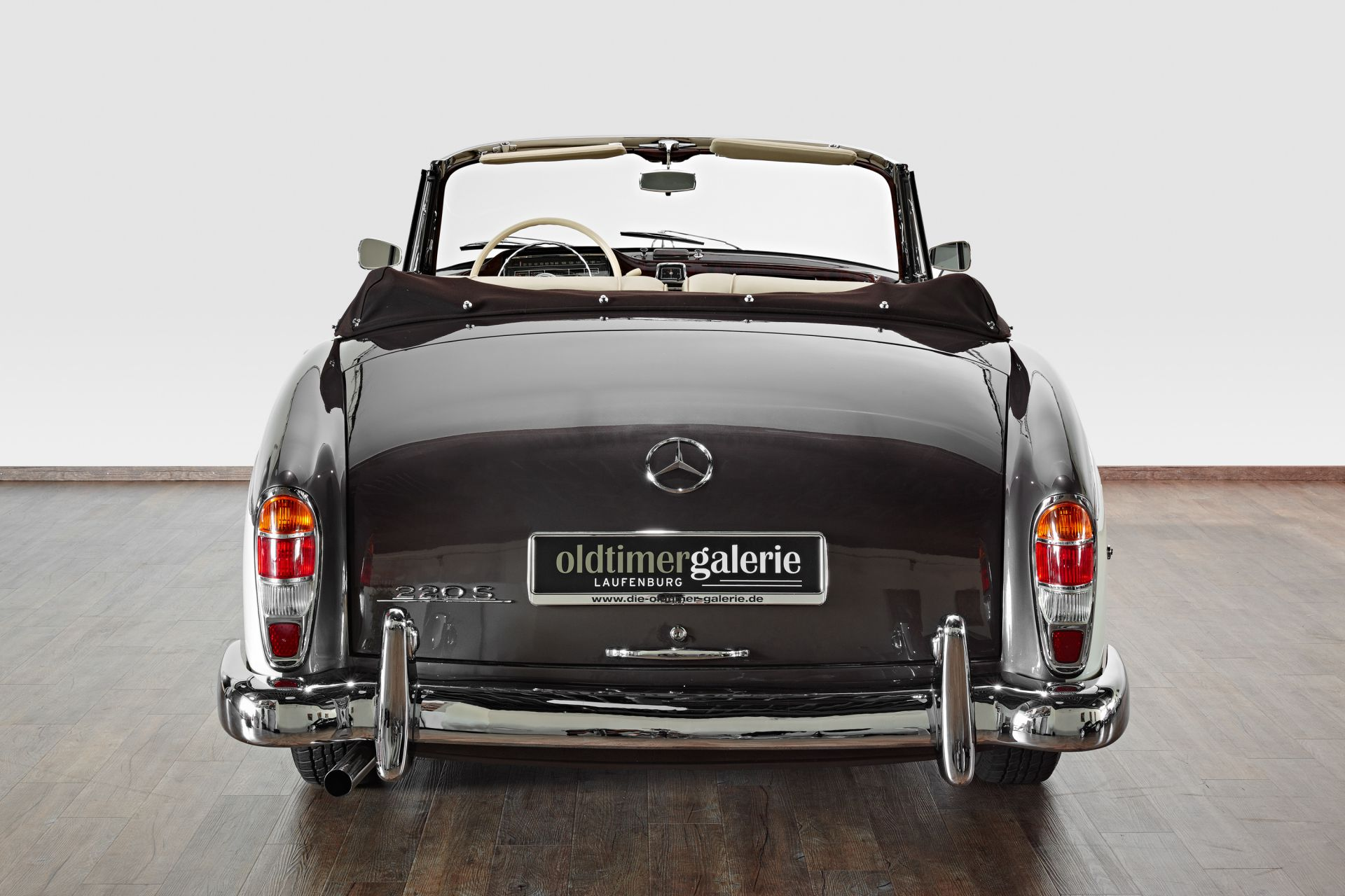 1958 Mercedes 220 S Cabriolet Ponton