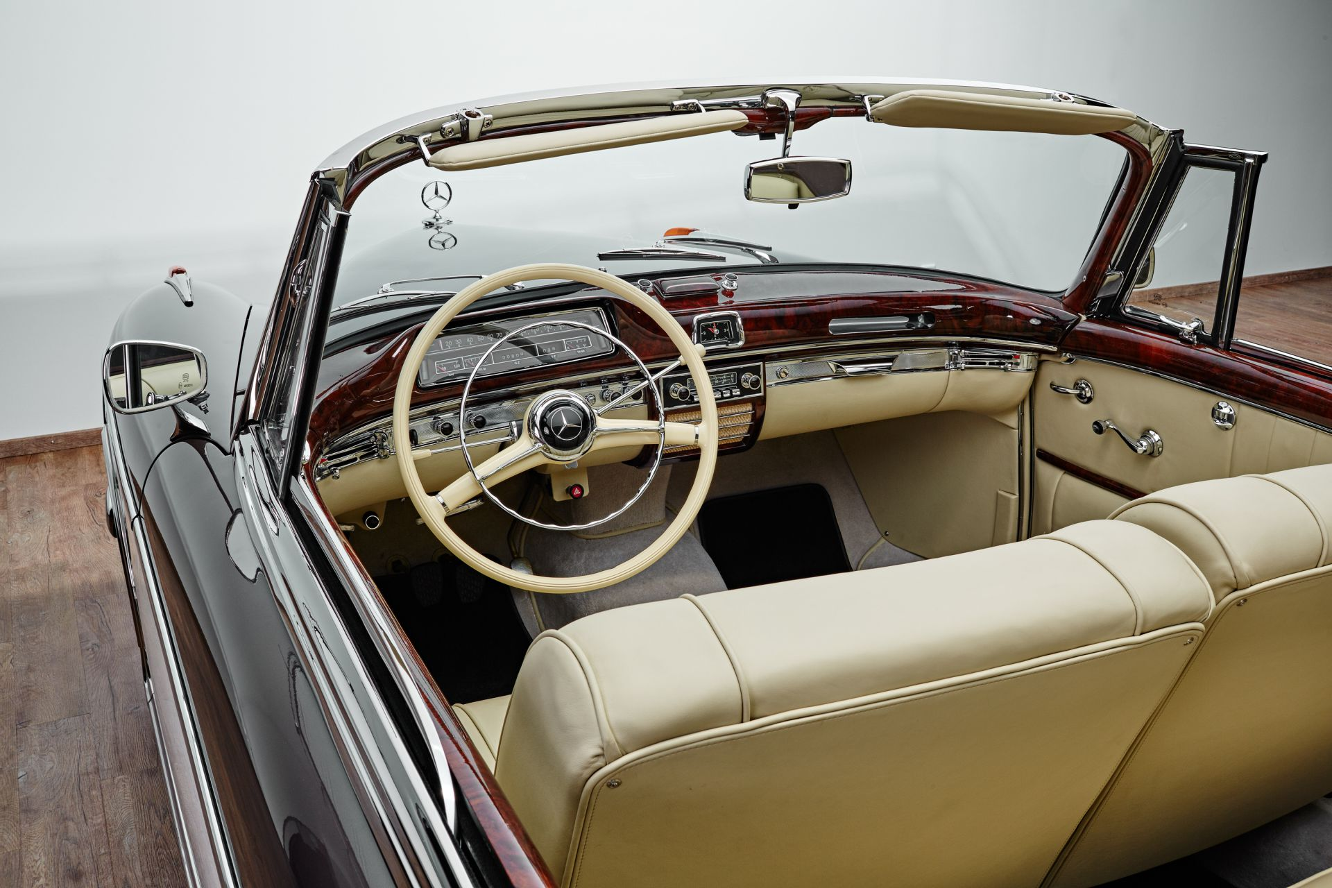 1958 mercedes 220 s cabriolet ponton. Black Bedroom Furniture Sets. Home Design Ideas