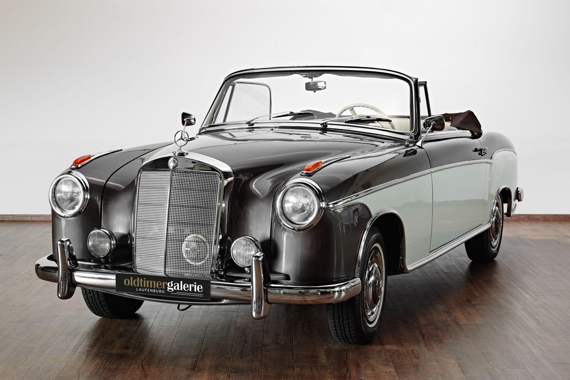 1958 mercedes 220 s cabriolet ponton. Black Bedroom Furniture Sets. Home Design Ideas
